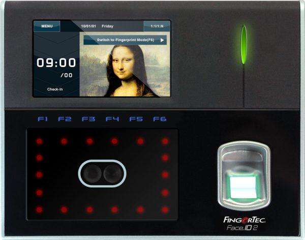 FingerTec Face ID 2 Time Clock Main | Bundy Clocks Brisbane | Time Attendance Gold Coast | BioAccSys Australia
