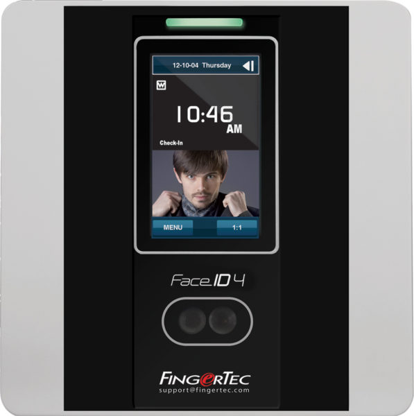 fingertec face id 4d main time attendance