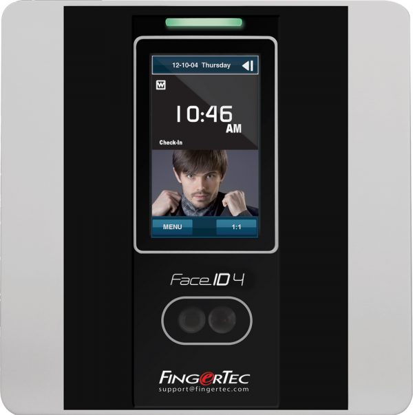 Fingertec Face ID 4D Main Time Attendance | Bundy Clocks Brisbane | Time Attendance Gold Coast | BioAccSys Australia