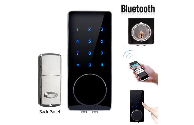 Deadbolt Bluetooth Lock Display | Bundy Clocks Brisbane | Time Attendance Gold Coast | BioAccSys Australia